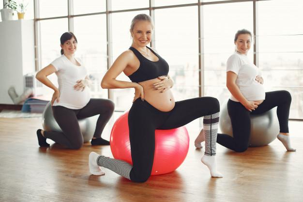 Fyzioterapie a cvičení pro těhotné a ženy v šestinedělí