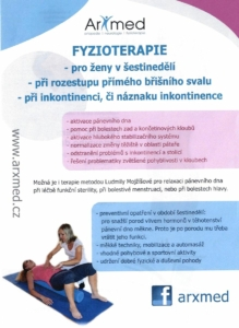 Fyzioterapie a cvičení pro těhotné a ženy v šestinedělí Prostějov